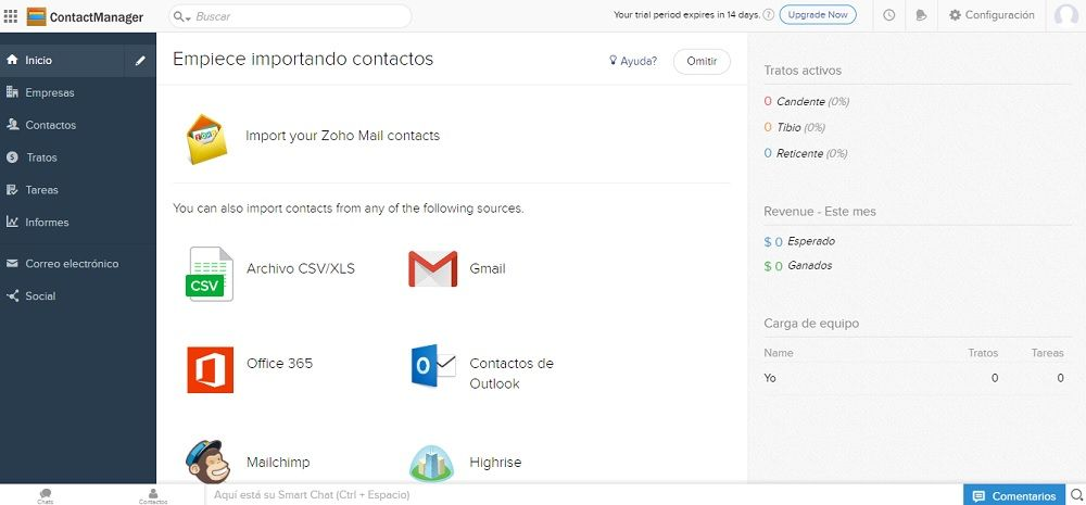 Zoho ContactManager